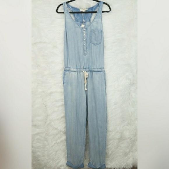 7e09f21642d1 NWT Lovestitch Denim Jumpsuit Size Medium